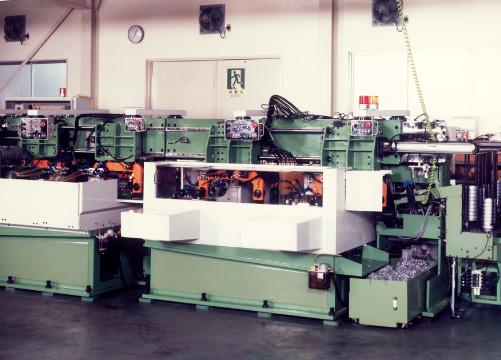 1980年代 リールハブ加工機